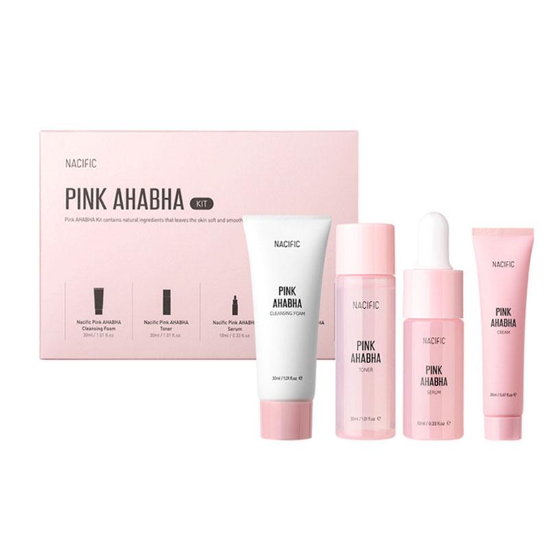 Nacific Pink AHA BHA Kit