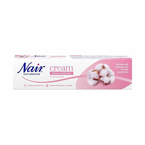 Nair Bikini & Underarm Hair Removal Cream 90ml