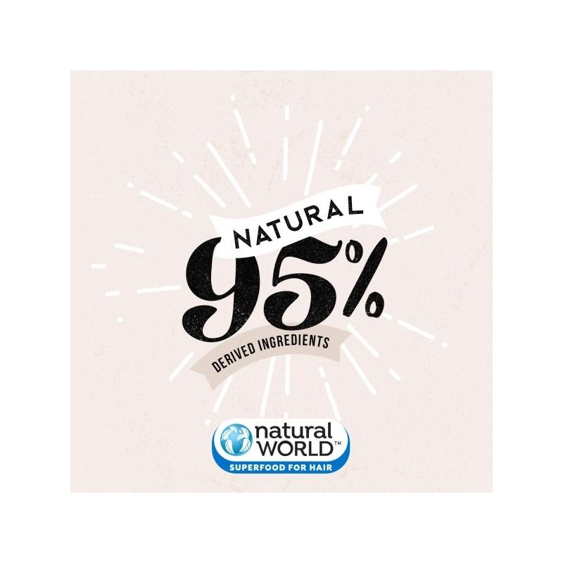 Natural World Argan & Marula Oil Repairing Deep Conditioner For All Hair Types 50ml