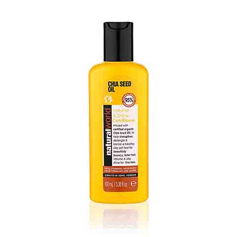 Natural World Chia Seed Oil Volume & Shine Conditioner 100ml