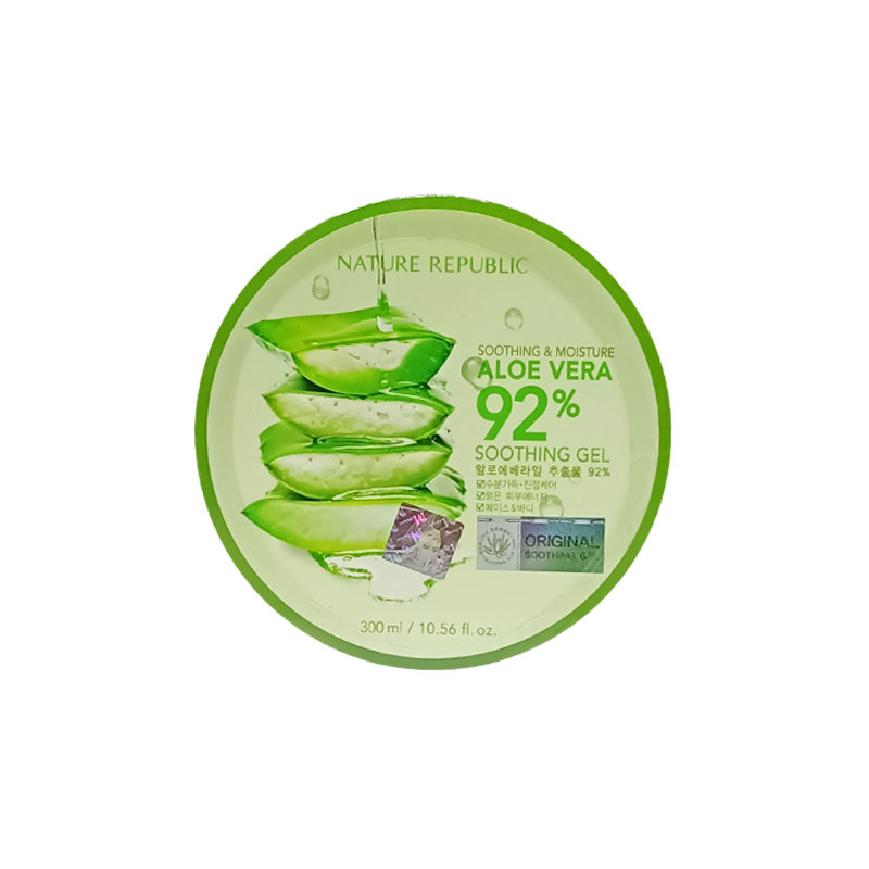 Nature Republic 92% Aloe Vera Soothing Gel 300ml