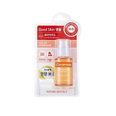 Nature Republic Ceramide Good Skin Ampoule 30ml - Moisturizing