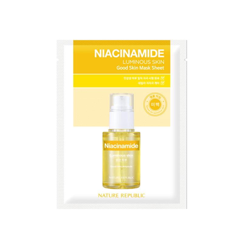 Nature Republic Niacinamide Good Skin Sheet Mask 24g