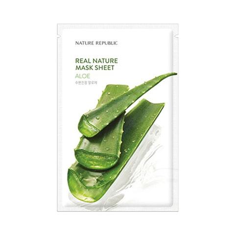 Nature Republic Real Nature Aloe Sheet Mask 23ml