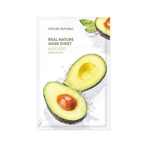 Nature Republic Real Nature Avocado Sheet Mask 23ml