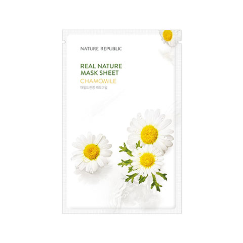 Nature Republic Real Nature Chamomile Mask Sheet 23ml