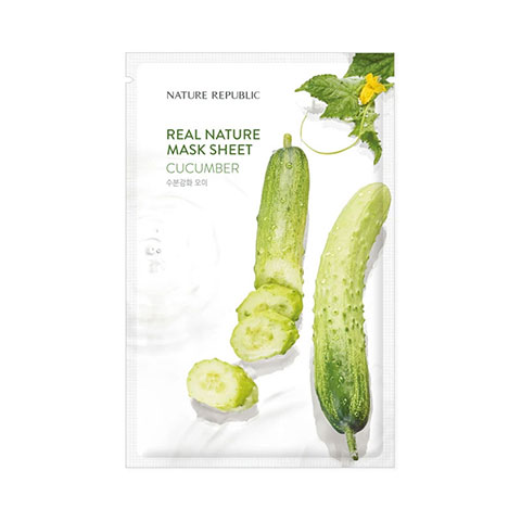 Nature Republic Real Nature Cucumber Sheet Mask 23ml