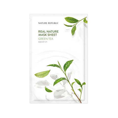Nature Republic Real Nature Green Tea Sheet Mask 23ml