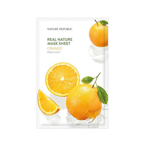 Nature Republic Real Nature Orange Sheet Mask 23ml