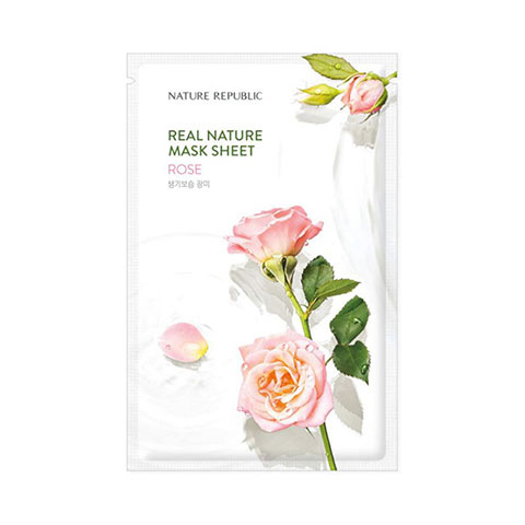 Nature Republic Real Nature Rose Sheet Mask 23ml