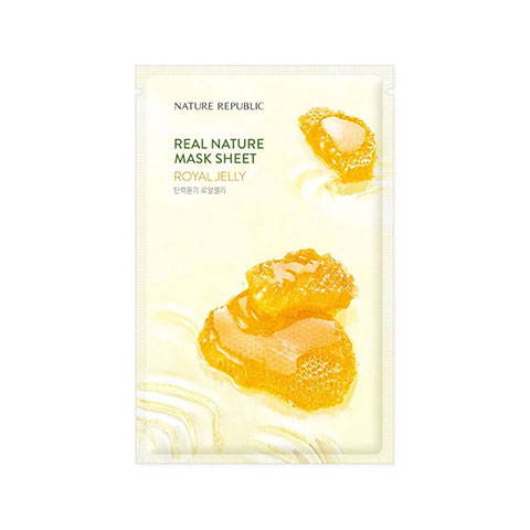 Nature Republic Real Nature Royal Jelly Sheet Mask 23ml