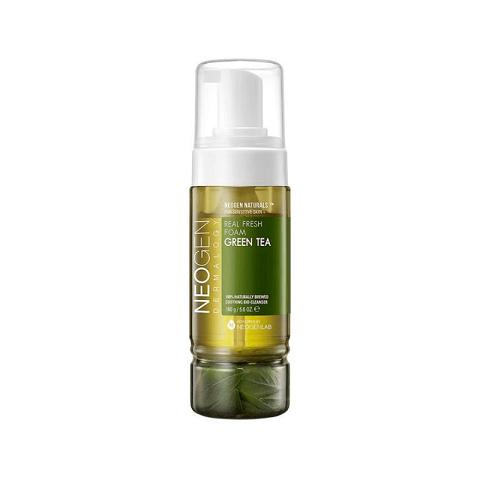 Neogen Dermalogy Real Fresh Foam Green Tea Cleanser 160g