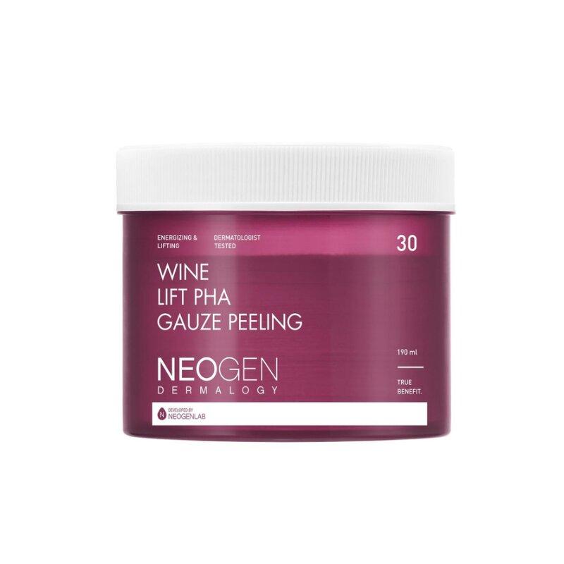 Neogen Dermalogy Wine Lift PHA Gauze Peeling 190ml (30 Pads)