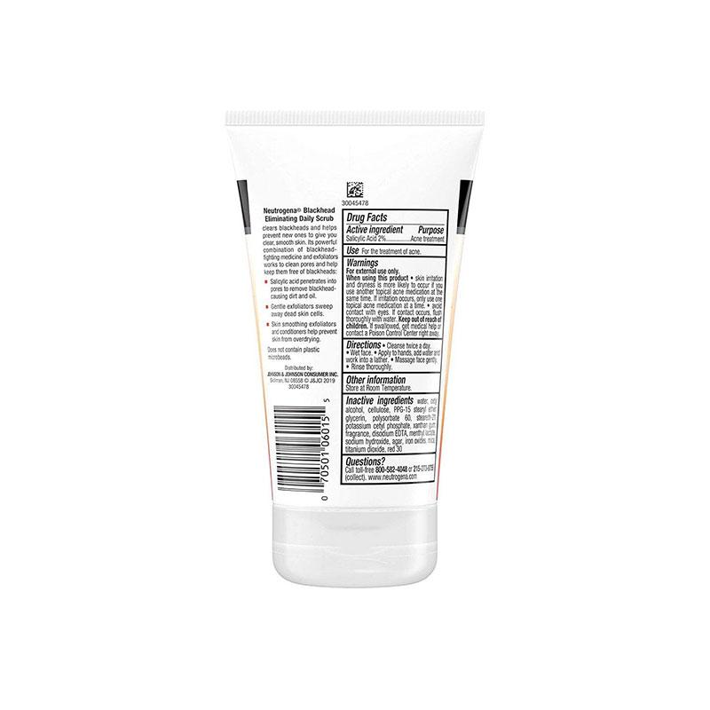 Neutrogena Blackhead Eliminating Daily Scrub 124ml