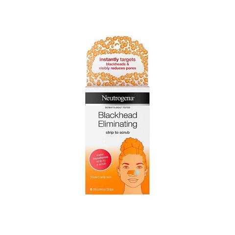 Neutrogena Blackhead Eliminating Strip To Scrub - 6 Strips