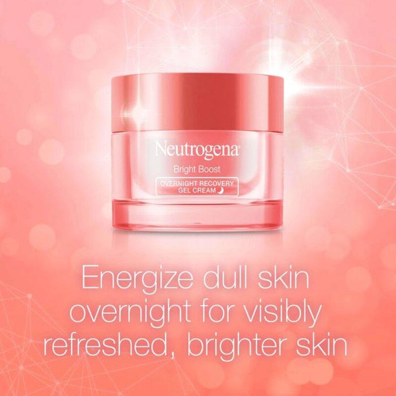 Neutrogena Bright Boost Overnight Recovery Gel Cream 50ml