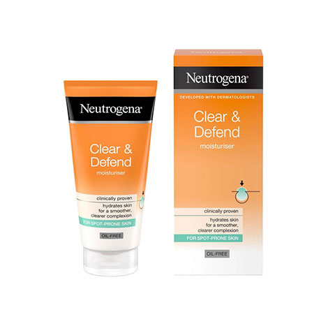 Neutrogena Clear & Defend Oil Free Moisturiser 50ml