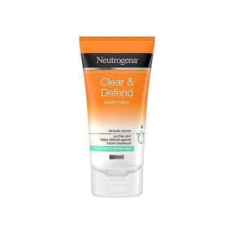 Neutrogena Clear & Defend Wash - Mask 150ml