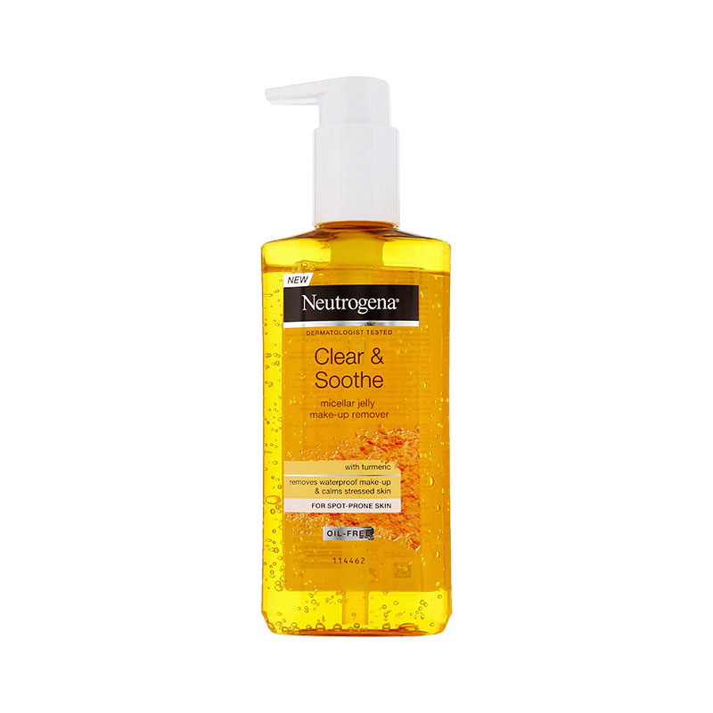 Neutrogena Clear & Soothe Micellar Jelly Make Up Remover 200ml