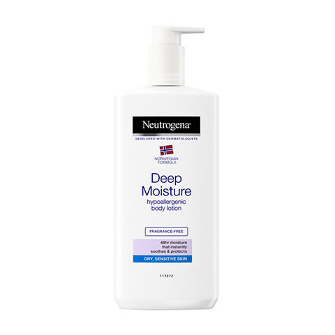 Neutrogena Deep Moisture Hypoallergenic Body Lotion 400ml