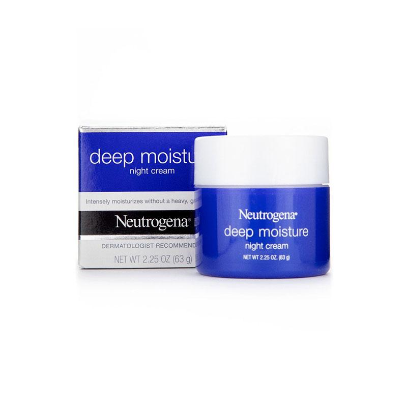Neutrogena Deep Moisture Night Cream 63g