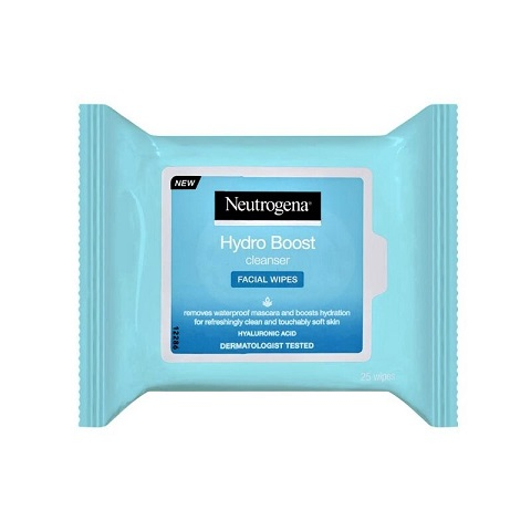 Neutrogena Hydro Boost Cleanser Facial Wipes - 25 Wipes