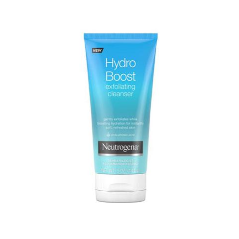 Neutrogena Hydro Boost Gentle Exfoliating Facial Cleanser 141g