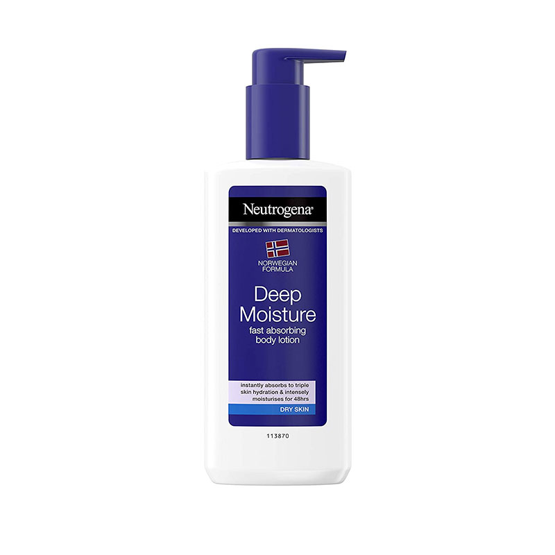 Neutrogena Norwegian Formula Deep Moisture Body Lotion Dry Skin 250ml