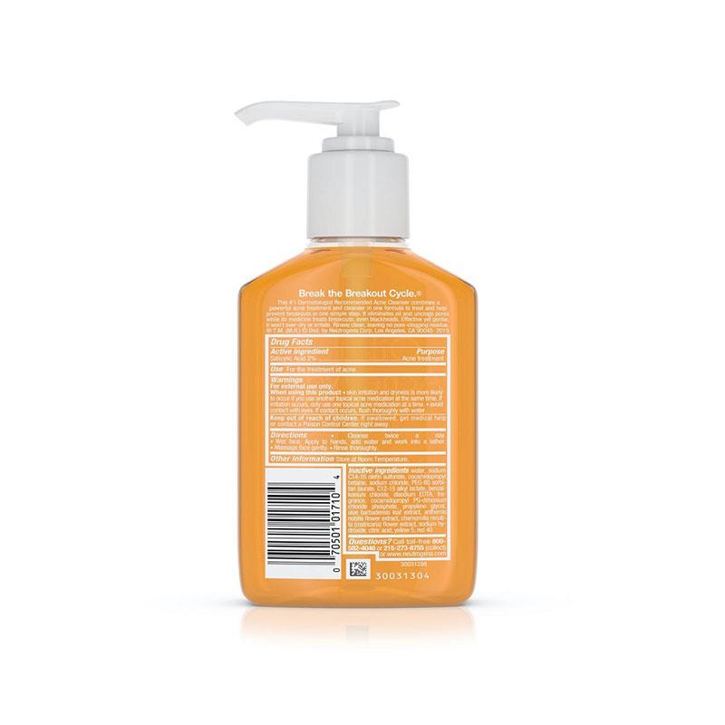 Neutrogena Oil Free Acne Wash 177ml