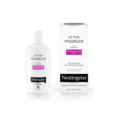 Neutrogena Oil-Free Moisture With Sunscreen Broad Spectrum 73ml - SPF 35