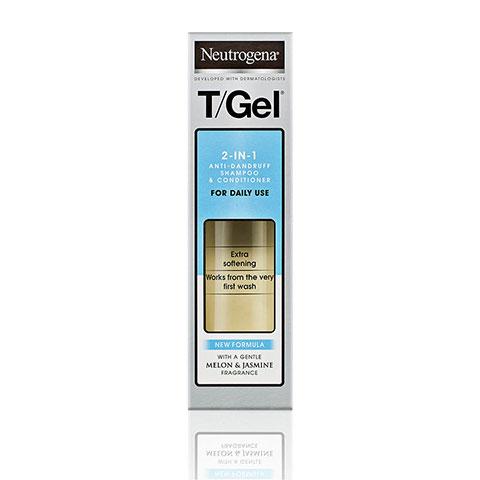 Neutrogena T-Gel 2 in 1 Anti Dandruff Shampoo & Conditioner 250ml