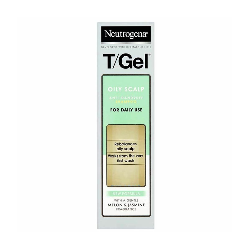 Neutrogena T-Gel Oily Scalp Anti Dandruff Shampoo 250ml