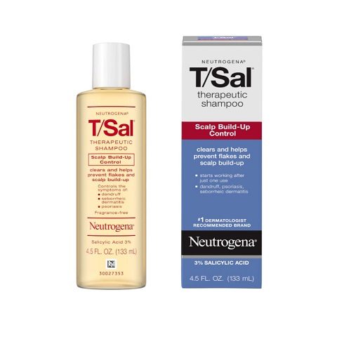 Neutrogena T-Sal Therapeutic Shampoo Scalp Build-Up Control 133ml