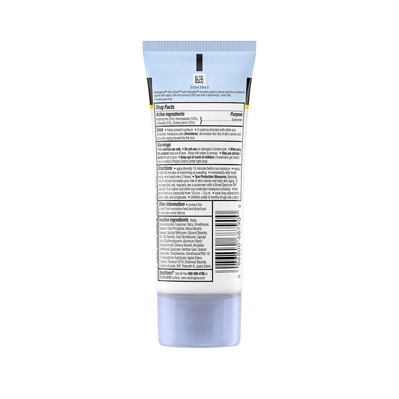 Neutrogena Ultra Sheer Dry-Touch Sunscreen SPF55 88ml