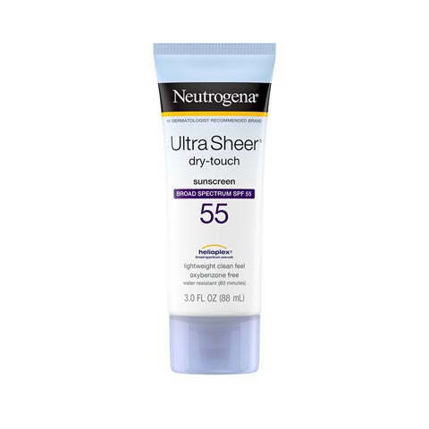 Neutrogena Ultra Sheer Dry-Touch Sunscreen SPF55 88ml