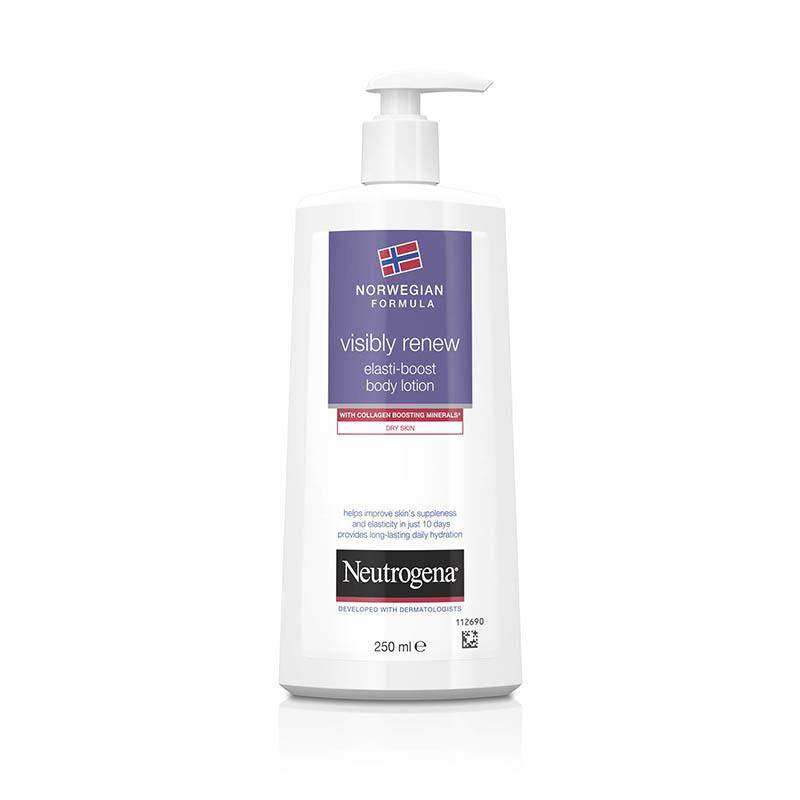 Neutrogena Visibly Renew Elasti - Boost Body Lotion for Dry Skin 250ml