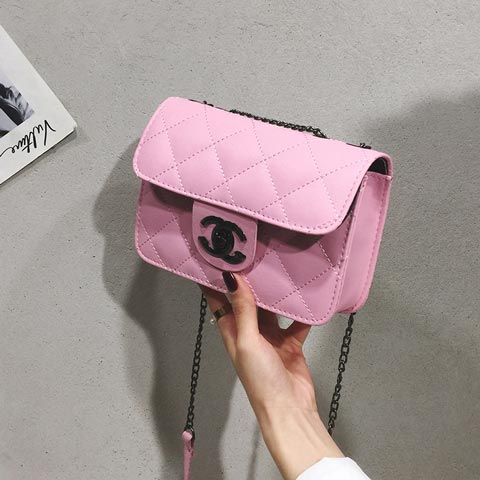 New Fashion Embroidery Thread  Women's Shoulder Bag - Pink