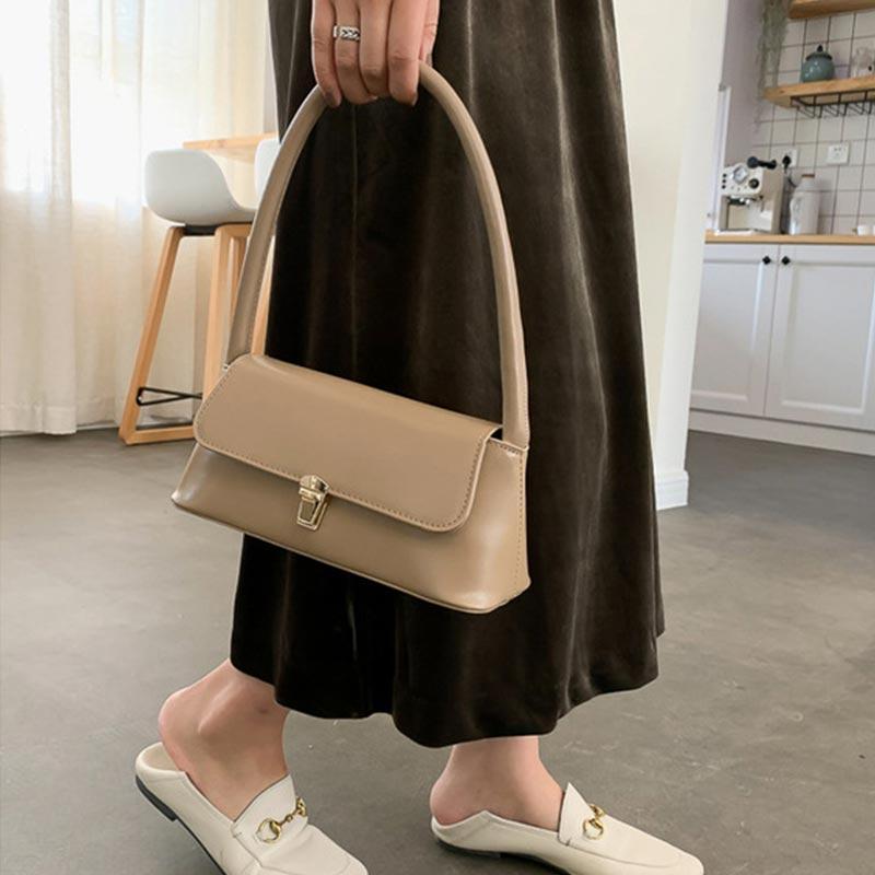 New Trendy Fashion French Niche Shoulder Bag (1001017)