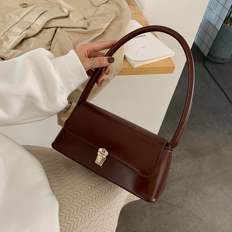 New Trendy Fashion French Niche Shoulder Bag (1001020)