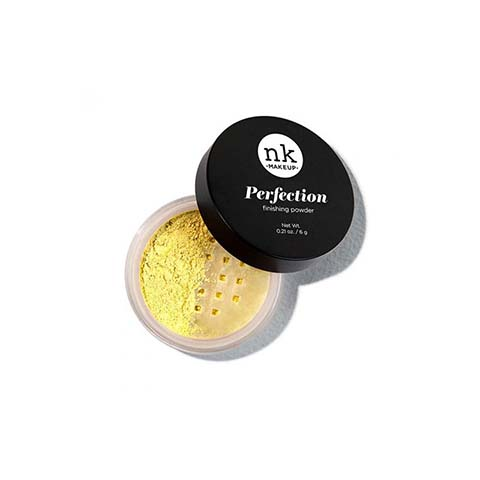 Nicka K Makeup Perfection Finish Powder - Banana NFP04