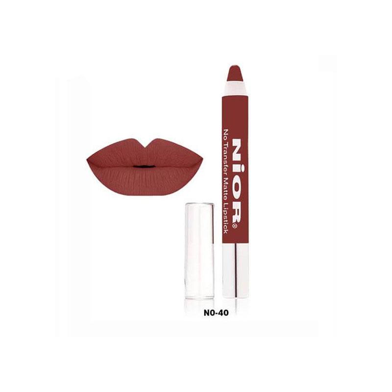 Nior No Transfer Matte Lipstick - No.40