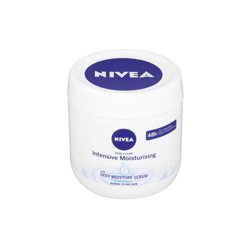 Nivea Intensive Moisturising Body Cream With Deep Moisture Serum 400ml