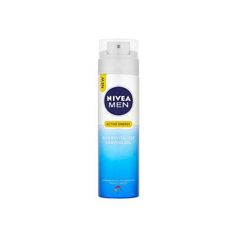 Nivea Men Active Energy Skin Revitalizer Shaving Gel 200ml