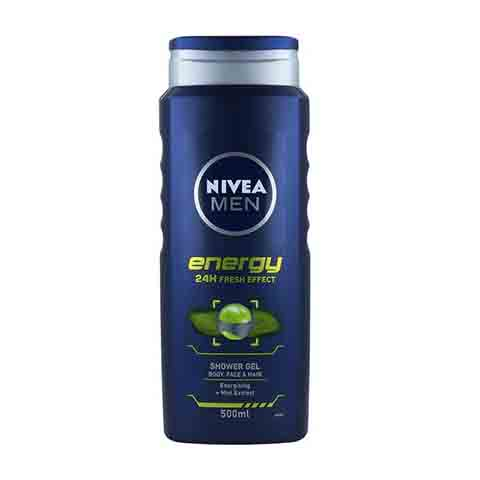 Nivea Men Energy 24h Fresh Effect Shower Gel 500ml