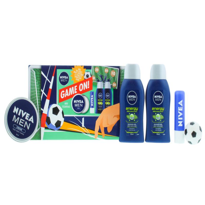Nivea Men Game On Mini Essentials Gift Set