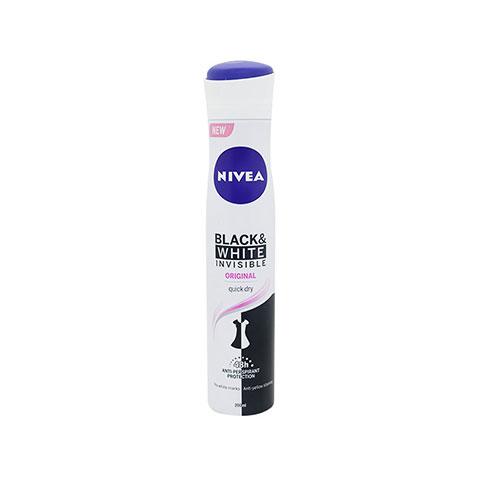 Nivea New Black & White Invisible original Quick Dry 48h Anti - Perspirant 200ml