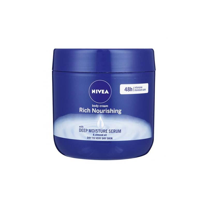 Nivea Rich Nourishing Body Cream With Deep Moisture Serum 400ml