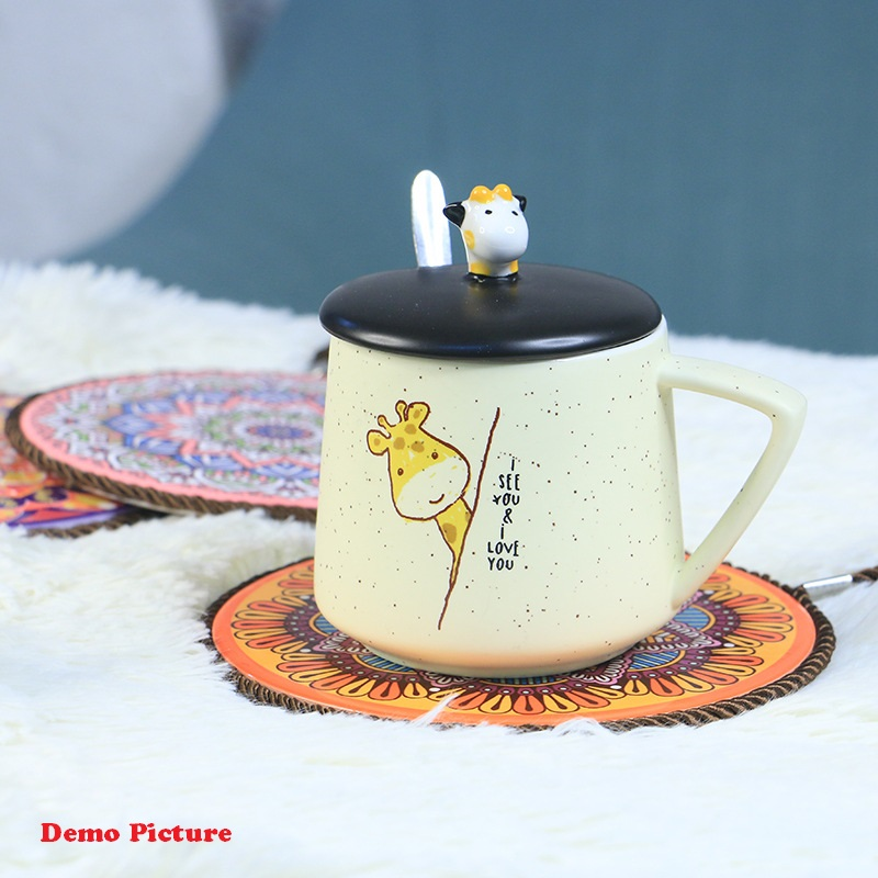 Non-Slip Heat Resistance Ceramic Dining Table Mat - 1001094
