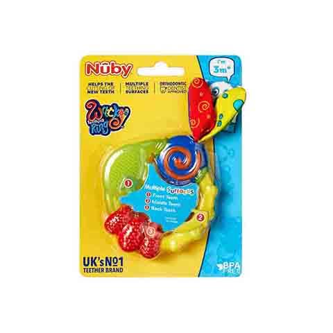 Nuby Wacky Teething Ring 3m+ (6328)