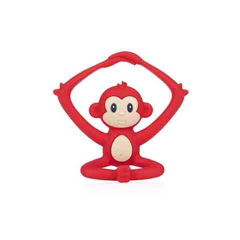 Nuby Yogis Animal Silicone Teether - Monkey